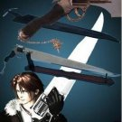 Final Fantasy VIII Squall's FUNCTIONAL Gunblade Sword With Stand & Sheath
