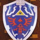 Legend Of Zelda Hylian Shield With Wall Plaque