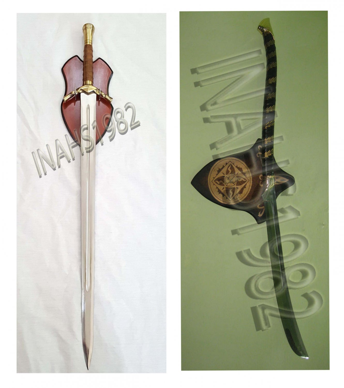 Boromir Sword + High Elven Warrior Sword-Lord Of The Rings