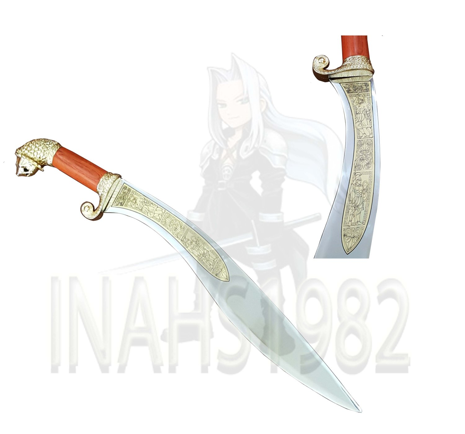 Alexander Sword of The Great Warrior with Stand