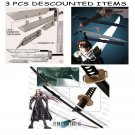 Multi Advent Children Buster + Functional Gunblade + Masamune Sephiroth's 68""