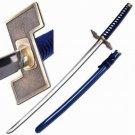Grimmjow Zanpakuto Bleach Anime Katana Sword With Display Stand