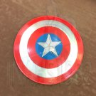 "Captain America Movie Shield Red 22"" with Display Wall Plaque"