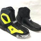 YAMAHA Motorcycle Boots Riding Leather Boots All Size Available