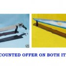 Squall's FUNCTIONAL Gunblade + Winged Gunblade Sword With Wooden Stand & Sheath