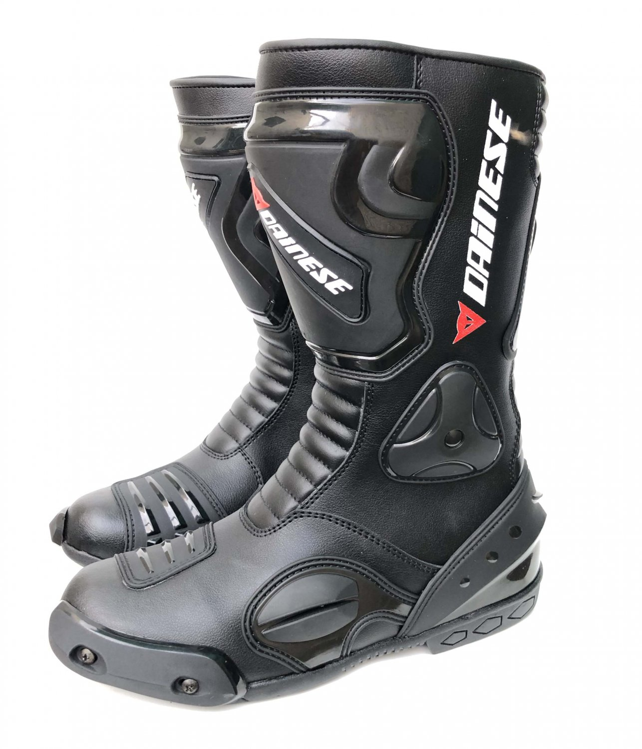 Dainese Motorbike Racing Shoes Made of  High quality Leather All Size Available