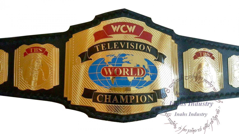 WCW TBS World TELEVISION Wrestling Championship Belt 2mm Brass