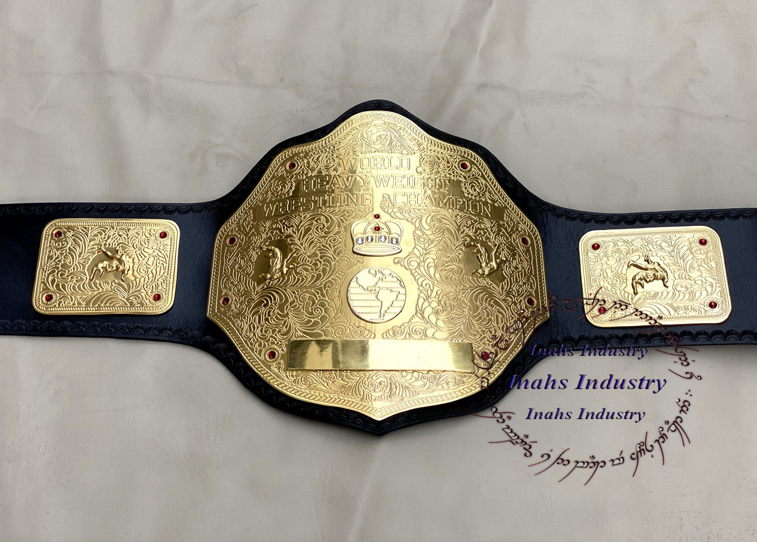 WWE Big Gold World Heavyweight Championship Belt