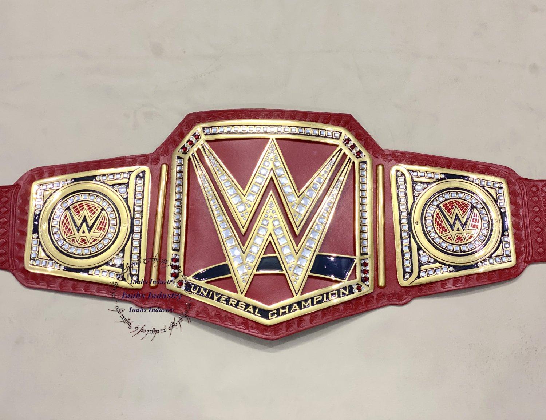 WWE Universal Championship Wrestling Replica Leather Belt