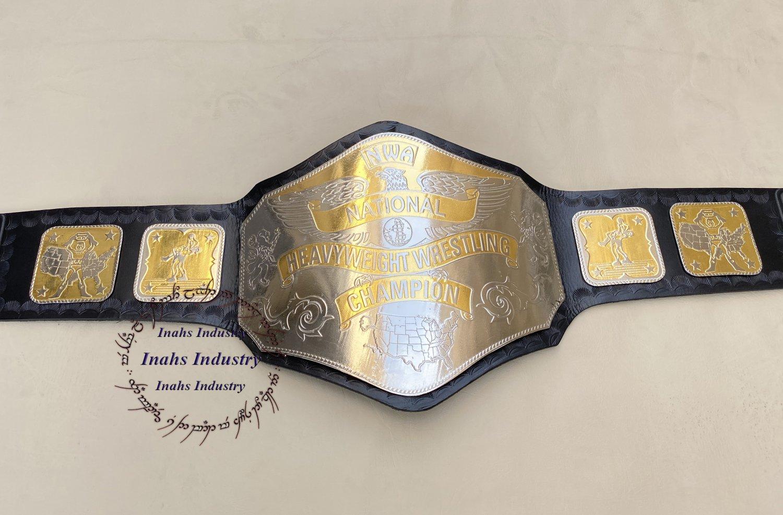 NWA World National Heavyweight Wrestling Championship Belt