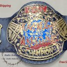 ECW World Heavyweight Wrestling Championship Belt 4mm Zinc Plates