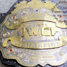 IWGP Heavyweight Championship Wrestling Belt Dual Plated 4mm Plates