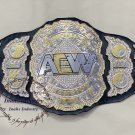 AEW WORLD HEAVYWEIGHT CHAMPIONSHIP WRESTLING BELT 4MM ZINC Plates