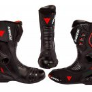 Dainese Motorbike Racing Shoes Motorcycle Boots High quality Leather All Size Available