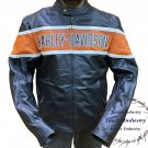 Harley Davidson Men's Victory Lane Motorbike Leather Motorcycle Jacket All Size available