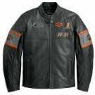 Details about  Men's Screaming Eagle Motorbike Real Cowhide Leather Biker's Jacket All Size