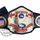 NWA United States Heavyweight Championship Wrestling Belt 4mm Zinc Plates