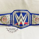 WWE Universal Championship Replica Title Belt Blue 4MM BRASS Adult Size