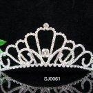 wedding tiara bride bridesmaid accessories crystal headpiece regal imperial comb 061S