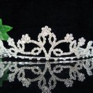 wedding tiara bride bridesmaid accessories crystal headpiece regal imperial comb 590S