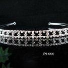 wedding tiara bridesmaid bride accessories crystal headpiece regal imperial comb 1444S