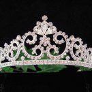Handmade Bridal accessories wedding hair tiara crystal pearl headpiece regal imperial comb 003S