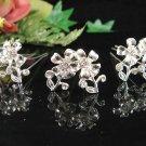 6 pc Wedding hair accessories bridal handmade hairpin bridesmaid curly alloy floral pin cn01w