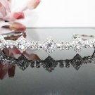 Bridal accessories; wedding handmade hair tiara;crystal headpiece; swarovski headband cn0028