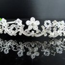 Bridal handmade accessories; wedding hair tiara; headpiece;fancy floral pearl headband;regal kc1101