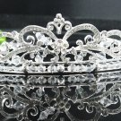 Bridal handmade accessories; wedding hair tiara; aloy crystal headpiece; elegant regal kc1170