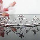 Bridal accessories; wedding tiara; alloy floral handmade headpiece;regal p4666