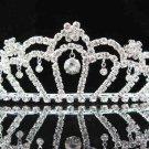 Bridal accessories; wedding handmade tiara;rhinestone headpiece; crystal sparkle regal j658