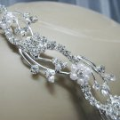 Bridal accessories; wedding tiara;rhinestone headpiece;crystal daisy pearl handmade headband 3574