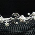 Bridal accessories; wedding tiara;rhinestone headpiece;crystal handmade daisy headband 5697
