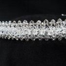 Bridal accessories; wedding tiara;rhinestone headpiece handmade crystal headband 5408