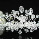 Bridal accessories; wedding tiara;rhinestone headpiece;crystal handmade shine imperial 7785