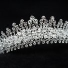 Bridal hair accessories;wedding tiara handmade rhinestone swarovski crystal imperial 617