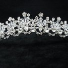 Bridal hair accessories;wedding tiara;rhinestone swarovski crystal imperial 2119