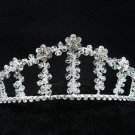 Bridal hair accessories;wedding tiara; handmade swarovski sparkle crystal regal 2421