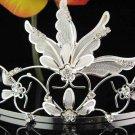 Bridal hair accessories;wedding tiara rhinestone headpiece special crystal huge regal 1876