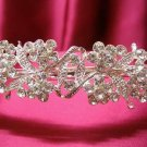 Bridal hair accessories;wedding tiara rhinestone silver alloy crystal headband  701s