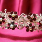 Bridal hair accessories;wedding tiara;rhinestone silver alloy crystal headband 701r
