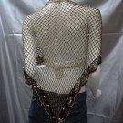 Crochet sexy pattern cape;hot hippie shrug;fashionable bugle wrap handmade floral shawl top sq34g