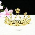 Floral rystal bridal comb hair accessories,wedding tiara ,rhinestone headpiece TC03G
