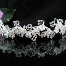 Bridal crystal headband,swarovski bridal hair accessories,wedding tiara rhinestone veil 2007