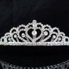 Bridal headpiece,bridal hair accessories,sweetheart wedding tiara rhinestone veil 2016