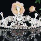 swarovski Bridal headpiece,bridal hair accessories,wedding tiara rhinestone veil 658