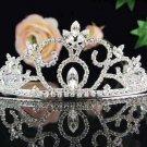 Bridal headpiece bridal accessories wedding tiara rhinestone veil 2533