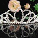 Bridal headpiece veil,bridal hair accessories,wedding rhinestone bridal tiara 6660