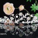 Bridal headband veil,bridal hair accessories,wedding rhinestone bridal tiara 531PL